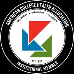 ACHA American College Health Association Institutional Member Seal