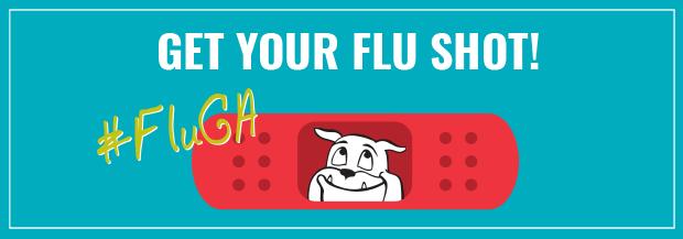Get your flu shot! #flUGA